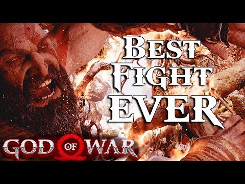 God Of War (2018): The BEST Video Game Fight I've Ever Seen! (Part 2)