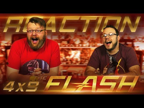 "The Flash 4x9 REACTION!! ""Don't Run"""