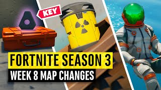 Fortnite | All Season 3 Map Updates and Hidden Secrets! WEEK 8