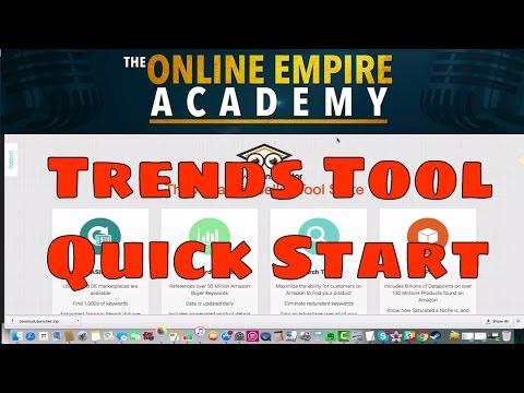Keyword Inspector Tutorial - Trends Tool Quick Start