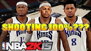 NBA 2k15 (60fps) My Career S3 - SHOOTING 100%???