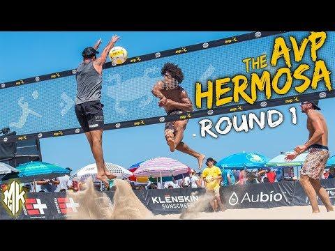 McKibbin/McKibbin vs. Schultz/Urrutia | AVP Hermosa Beach Open 2019