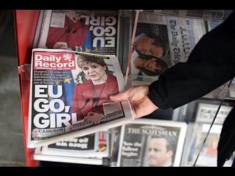 James O'Brien vs Nicola Sturgeon keeping Scotland in the EU