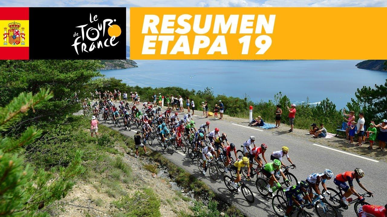 Resumen Etapa 19 Tour De France 2017 Youtube