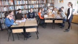 Страна читающая. Дети из ПКДБ читают классику в библиотеке: И. А. Крылов