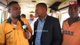 Dereva azungumza Bibi na Mtoto walivyocheza ngoma juu ya gari 'UTUPU'