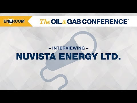 NuVista Energy Ltd. CEO Johnathan Wright at EnerCom's The Oil & Gas Conference 2017