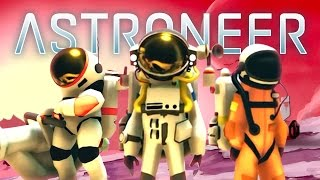 SPACE EXPLORATION! - ASTRONEER MULTIPLAYER #1 w/ Lachlan & Woofless