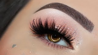Soft Glam for New Year's Eve Makeup Tutorial | Melissa Samways BR