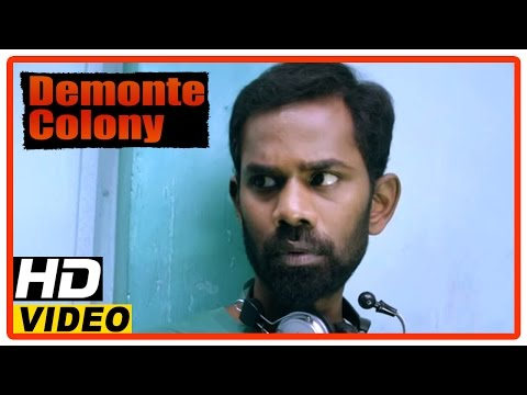 Demonte Colony Tamil Movie | Scenes | Ramesh Finds A Man Flirts With A Girl In An Internet Cafe