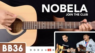 Nobela - Join the Club Guitar Tutorial / Cover