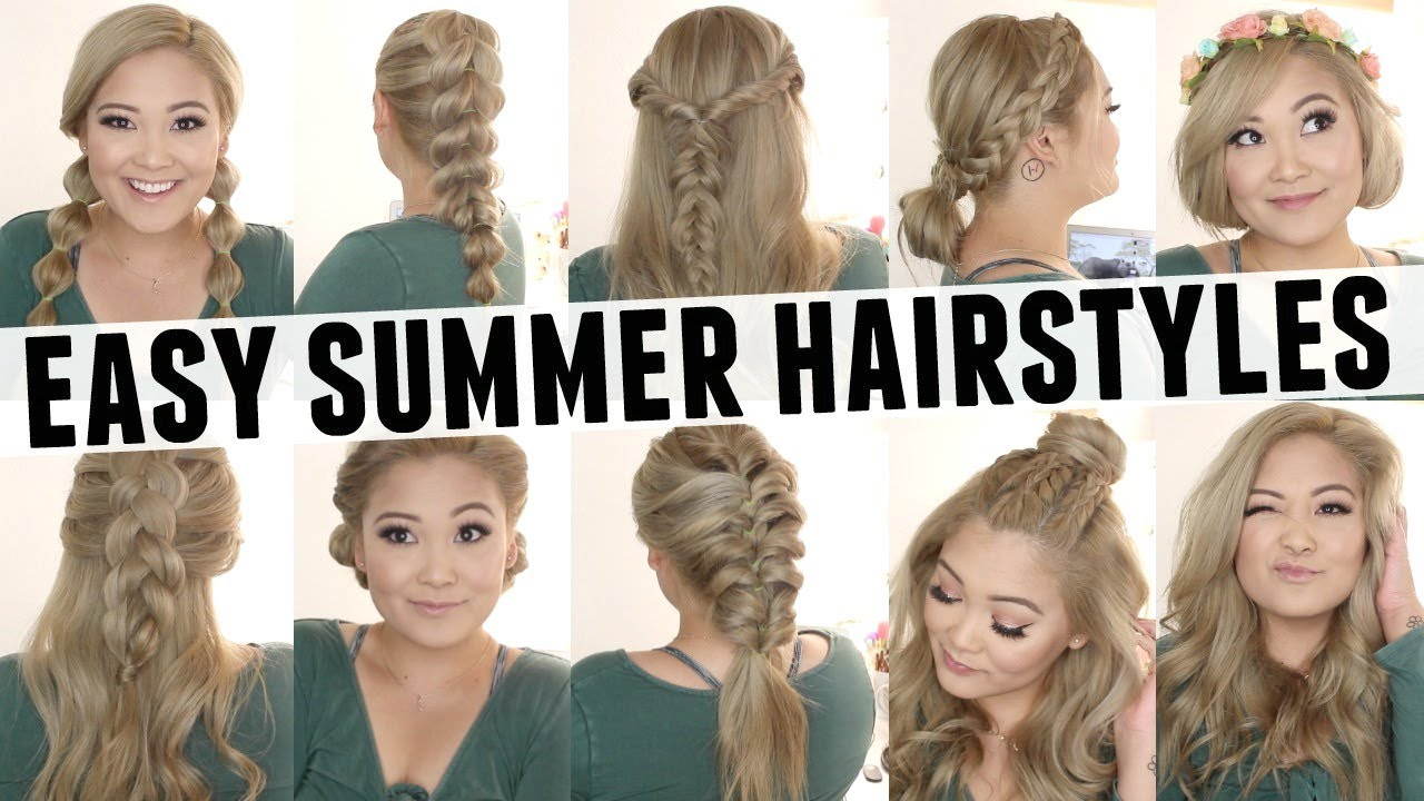 summer styles for natural hair easy summer hairstyles 3618 | maxresdefault
