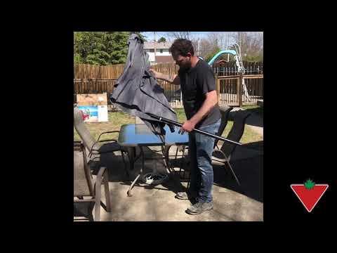 My Product Review: Canvas Rectangular Umbrella