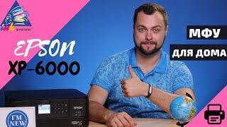 МФУ для дома Epson XP-6000. Обзор с Андреем