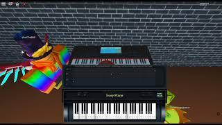 Fingerdash - Geometry Dash von: MDK auf einem ROBLOX Klavier.
