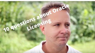 Fredrik's one word answer to 10 Oracle questions