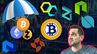 📉 $BTC Manipulation 📈 Bitcoin Gold 51% Attack!!! Best Sites For Airdrops 🤑$ZIL $ONT $NEO $DATA $BTG
