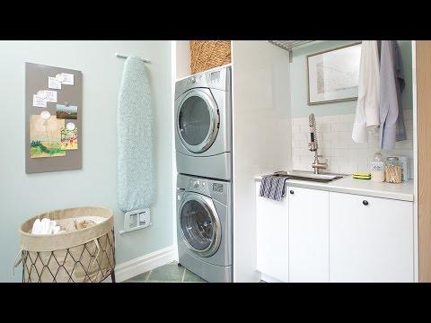 Interior Design – Laundry Room & Mudroom Makeover