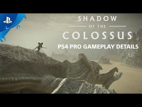 Shadow of the Colossus - 60 FPS Performance Mode and Cinematic Mode | PS4 Pro