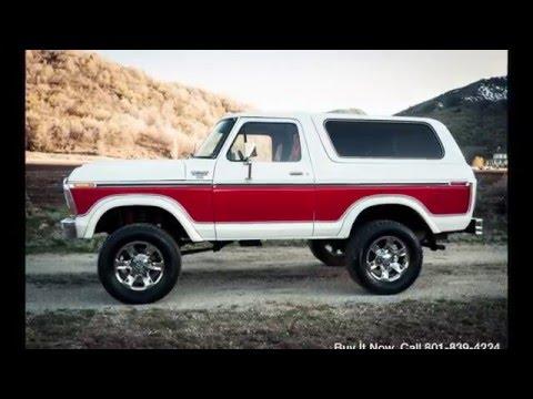 1978 Ford Bronco Ranger Xlt 460 V8 Monster 4wd