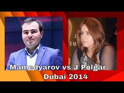 Shakhriyar Mamedyarov vs Judit Polgar: UAE 2014