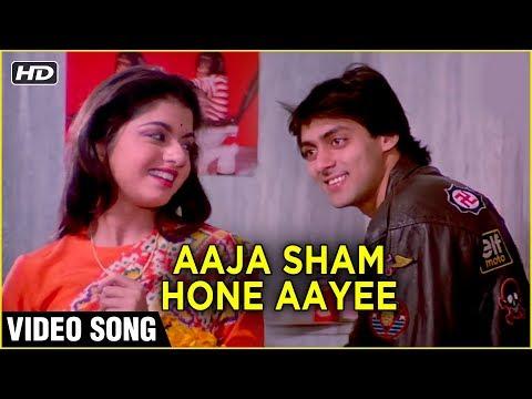 Aaja Sham Hone Aye HD  Maine Pyar Kiya  Romantic Love Song  Salman Khan  Bhagyashree
