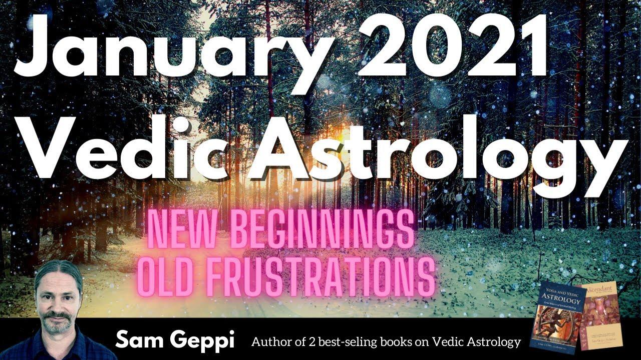 January 2021 vedic astrology