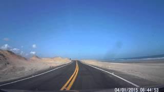 Viagem Luis Correia PI x Camocim CE - Parte 03 - Chegada a Praia do Maceió