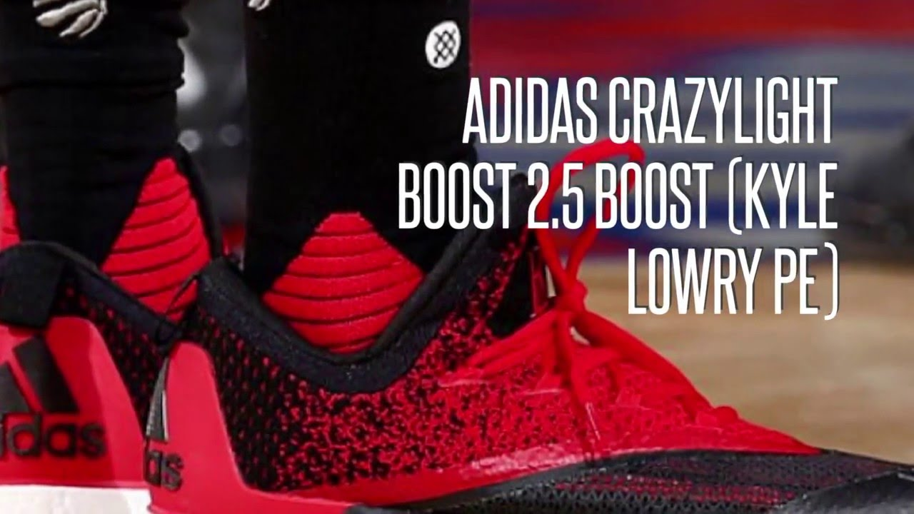 new concept 89d8e 1c033 ADIDAS CRAZYLIGHT BOOST 2.5 BOOST (KYLE LOWRY PE) SNEAKERS STAR