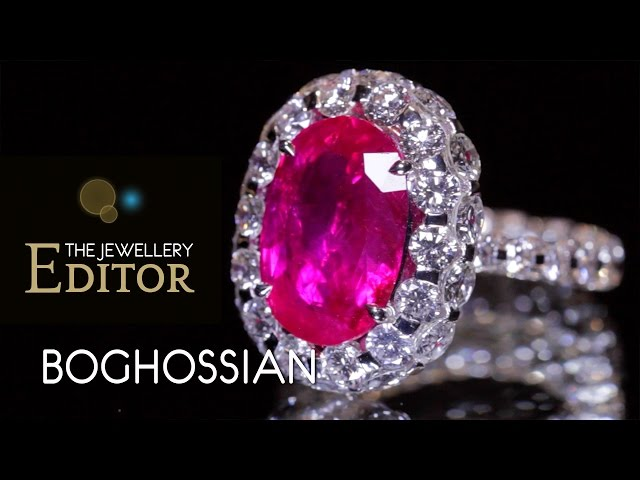 A new technique is born: Boghossian's brilliant Merveilles diamond jewels