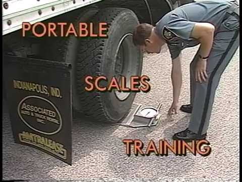 Indiana State Police 12.28.1989 Motor Carrier Portable Scales Training