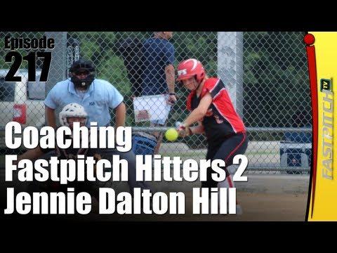 Coaching Softball Hitters Part 2  Jennie Dalton Hill