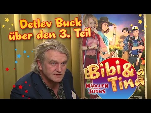 Bibi & Tina - MÄDCHEN GEGEN JUNGS - Interview mit Detlef Buck