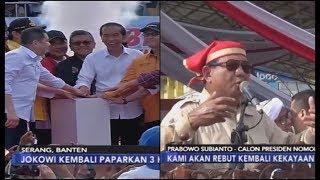 Jokowi dan Prabowo Kampanye Terbuka Perdana di Banten dan Makassar - iNews Malam 24/03