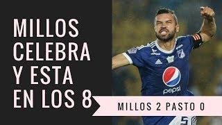 Millonarios venció 2-0 a Pasto y Por Ahora Está Entre Los Ocho [Noticias millonarios] Austin