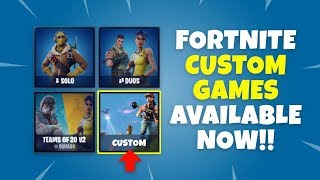 How to Play Fortnite Custom Games