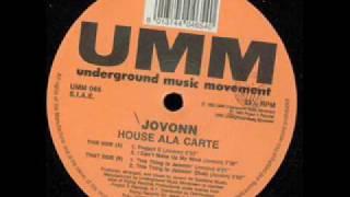 Jovonn - I Can