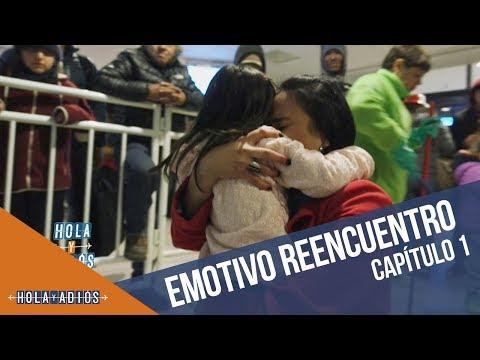 Emotivo reencuentro con su hija | Hola y...