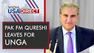 Download WION-USA Direct: Pakistan FM Shah Mahmood Qureshi left For UNGA | Latest World English News | WION