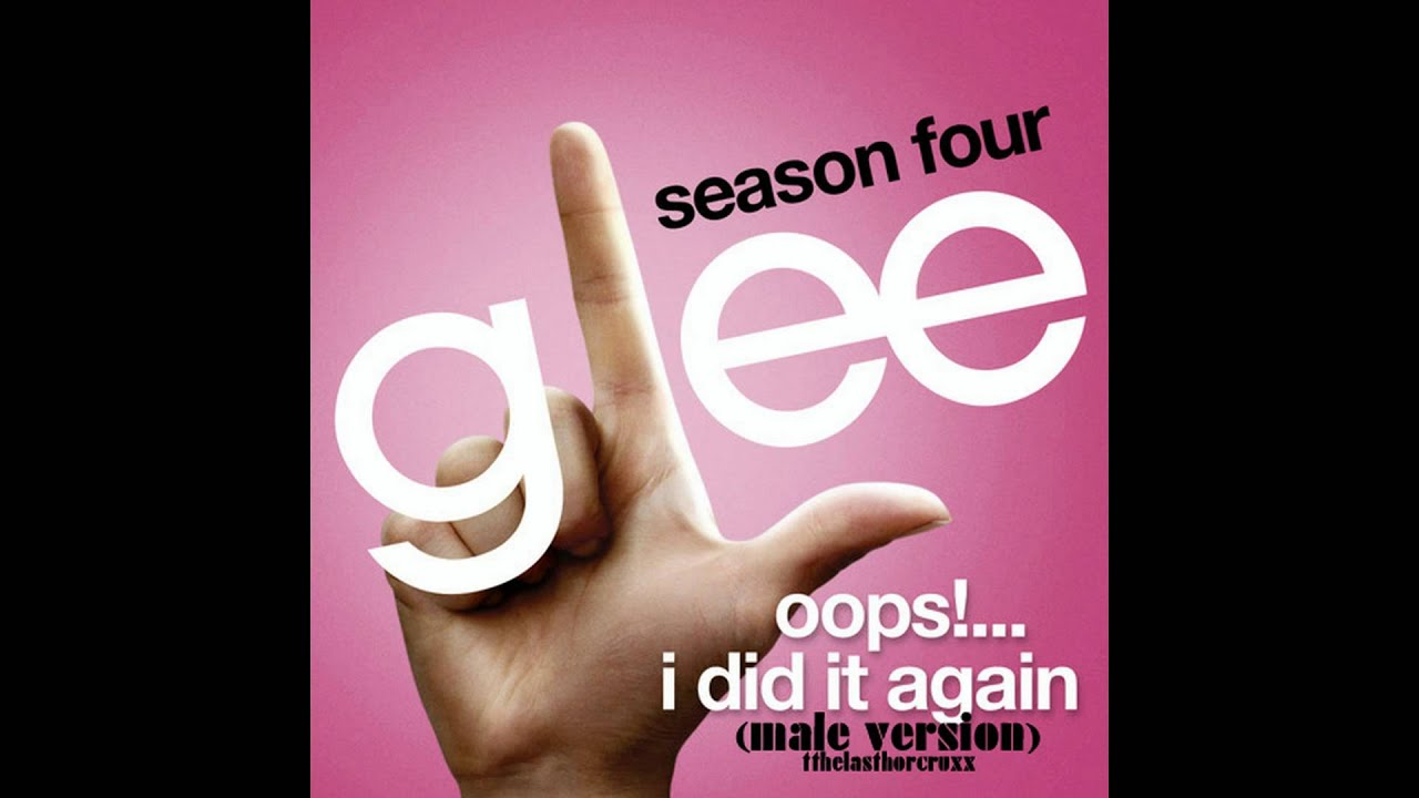 glee cast oops i did it again mp3 download