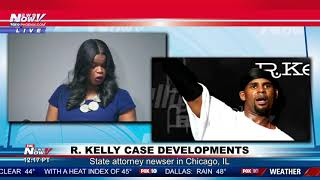 R. KELLY CHARGED: Singer faces multiple counts of aggravated criminal sex abuse (FNN)
