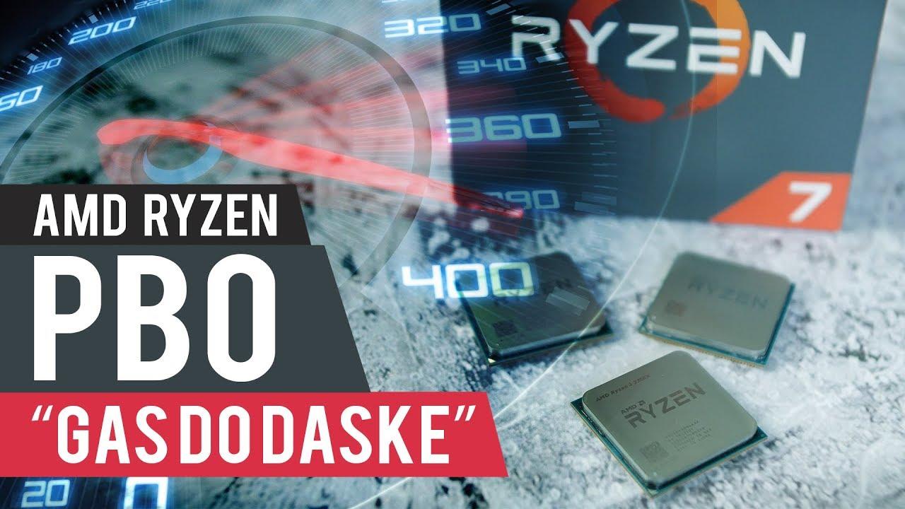 "AMD Ryzen PBO ""gas do daske"""