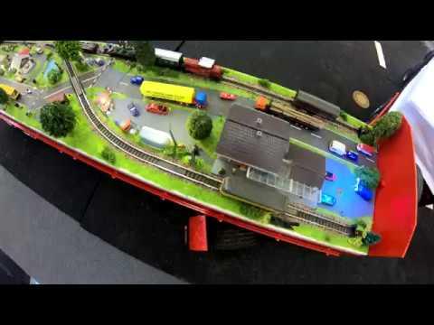Kleinste Eisenbahnanlage der Welt Intermodellbau 2018 NEU 4k