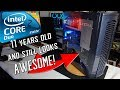 Core 2 Duo Geforce 7600 GT Retro PC Restoration + Benchmarks