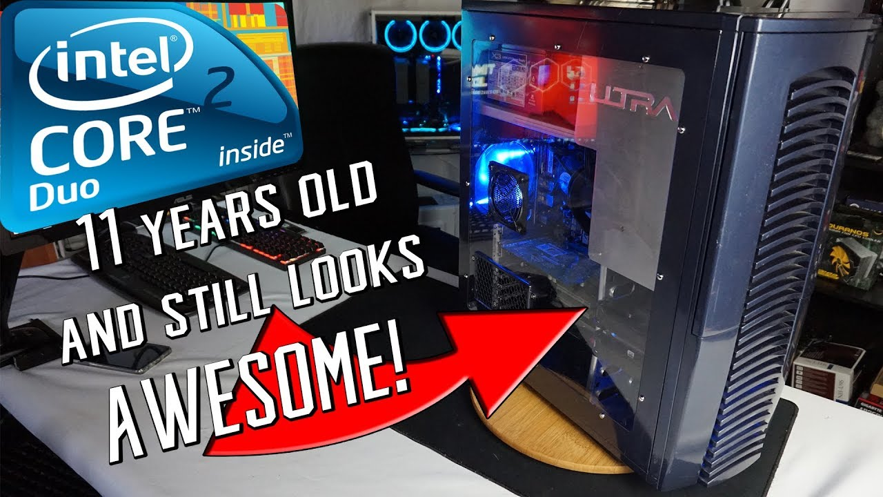 Core 2 Duo Geforce 7600 GT Retro PC Restoration + Benchmarks