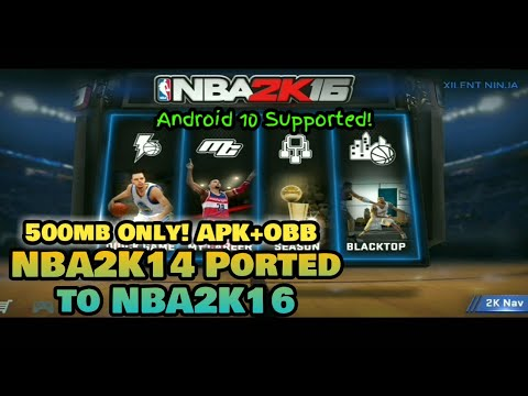 How To Download Nba2k16 On Mobile 500mb Only Youtube