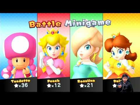 Mario Party Series Map | Daisy, Rosalina, Peach, Toaette  #17