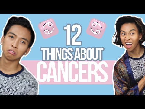 12 things YOU need to know about CANCERS ♋