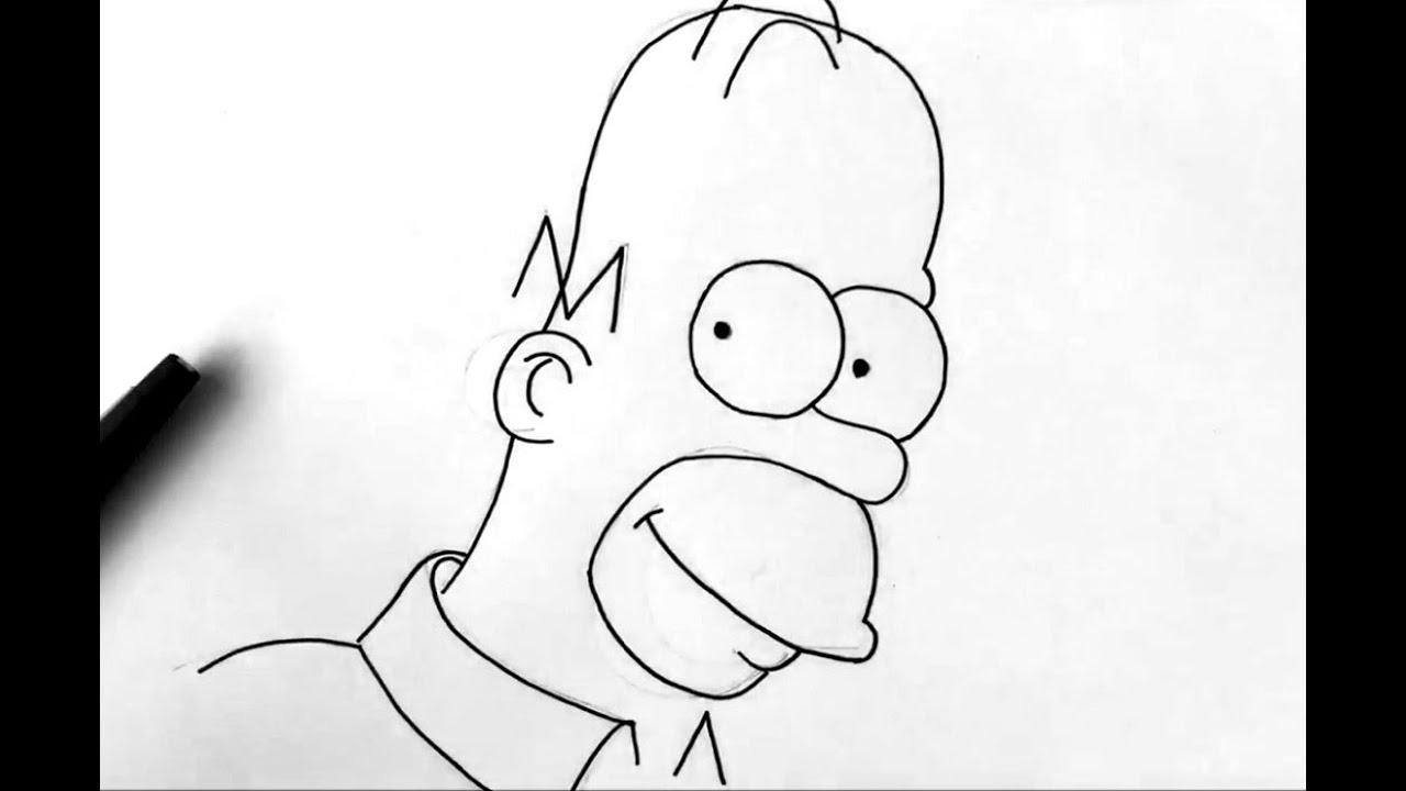 Comment Dessiner Homer Simpson