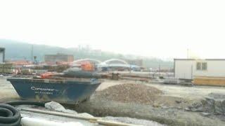 Avanzan a buen ritmo las obras del puente de San Inazio